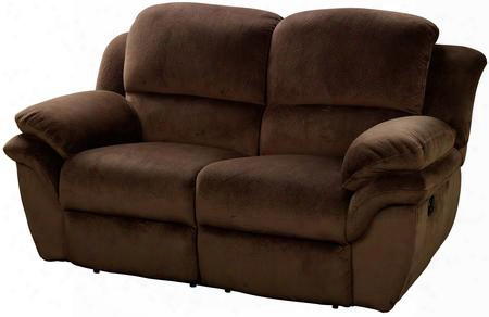 "22-897-20-pch Pebble Beach 69"" Dual Recliner Loveseat With Power Recline Mechanism Polyester Velvet Touch Fabric Sinuous Spring ""no Sag"" Deck Support And"