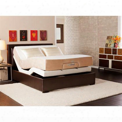 "Bd5010 Mycloud Adjustable Bed With 10"" Mattress -"