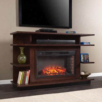Fe9031 Granville Media Electric Fireplace - Espresso/ebony