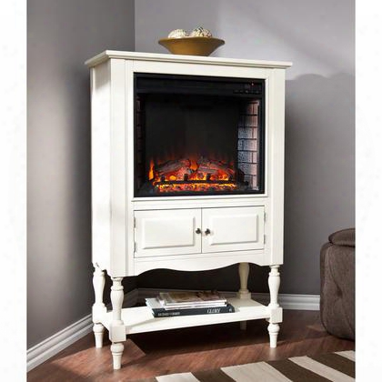Fe9808 Providence Fireplace Tower - Antique