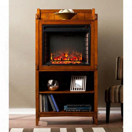 Fe9825 Moreno Fireplace Tower - Mission