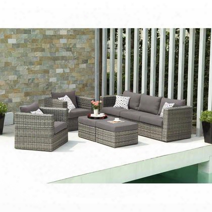 Od7743 Bristow Outdoor Deep Seating 5pc