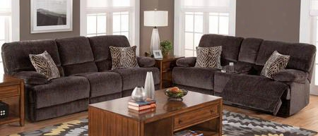 2059330shasl Idaho 2 Piec Manual Recline Living Room Set With Sofa And Loveseat In Rumor