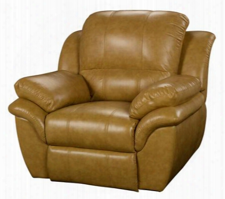 """22-203-12-btr Cabo 45"""" Power Recliner With Contemporary Design Bonded Leather Match Hardwood Frame Sinuous Spring """"no Sag"""" Support And Memory Foam Topper"""