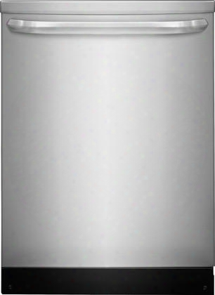 """Ffid2423rs 24"""" Energy Star Rated Built-in Dishwasher With Stainless Steel Spray Arm Dual Filtration And Saharadry Systems Multiple-cycle Option And Dishsense"""