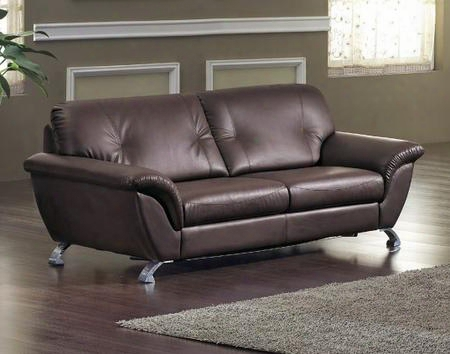 Vgdm2820 Divani Casa Sofa Set With Sofa Bed Mattress Included Easy Pull Out Mechanism And Bonded Leather Upholstery In