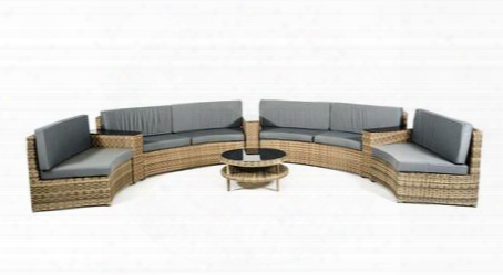 Vgubp00461 Renava Cobana Outdoor Sectional Sofa