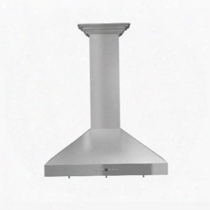 "Kl3crn48 48"" Wall Mount Range Hood With 760 Cfm Dishwasher Safety And Built In Halogen In Stainless"