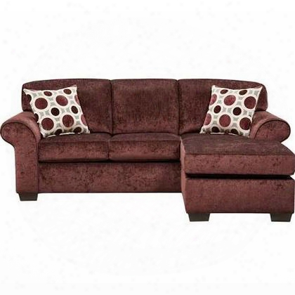 5303prismelderberry-sofch-gg Exceptional Designs Prism Elderberry Microfiber Sofa Chaise In