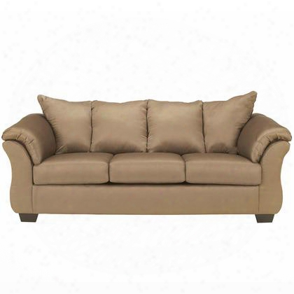 Fsd-1109so-moc-gg Signature Design By Ashley Darcy Sofa In Mocha