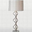 LPT526 Dynasty Table Lamp in Silver