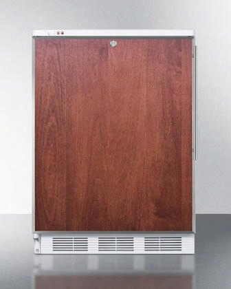"Vt65mlbifrlhd 24"" Medical Or Commercial Use Freezer With 3.5 Cu. Ft. Capacity Factory Installed Lock Adjustable Thermostat -25 Degrees C Capable And Manual"