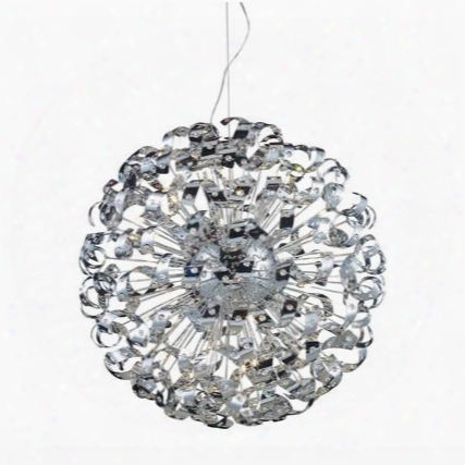 30007/42 Odyssey 42-light Pendant In Polished