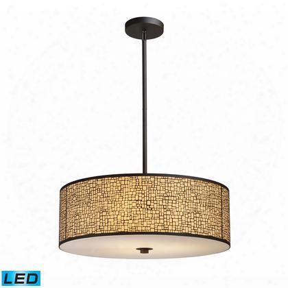 31047/5-led Medina 5-light Pendant In Aged Bronze -