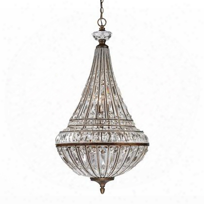46048/6+3 Empire Collection 6+3 Light Pendant In