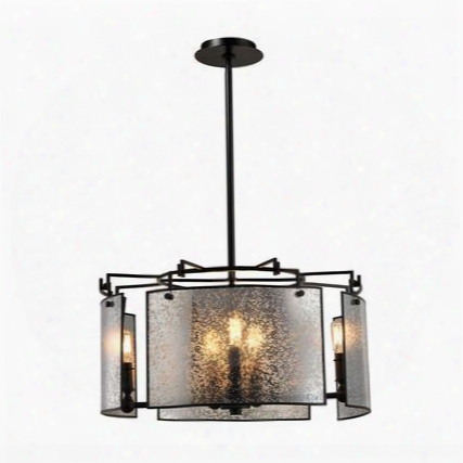 57094/8 Lindhurst 8 Light Pendant In Oil Rubbed