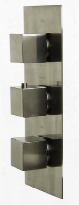 Ab2901-bn Concealed 4-way Thermostatic Valv Shower Mixer With Square Knobs Brass A Sleek Appearance Upc Certification User-friendly Installation And