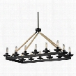 15904/14 Pearce Collection 14 Light chandelier in Matte