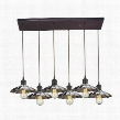 67042/6RC Corrine 6 Light Pendant in Oil Rubbed