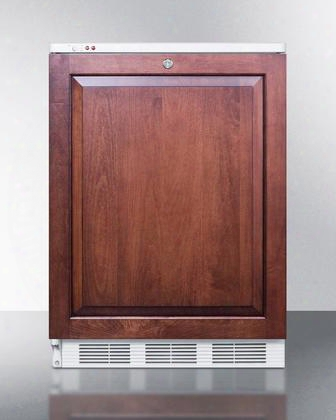 """Vt65mliflhd 24""""medical Use Freezer With 3.5 Cu. Ft. Capacity Factory Installed Lock -25 Degrees C Capable 3 Slide-out Drawers And Adjustable Thermostat:"""