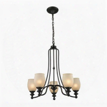 11656/5 Park Ridge 5 Light Chandelier In Oil Rubbed