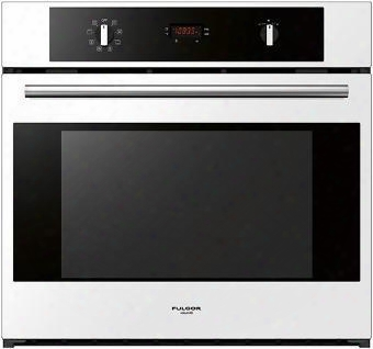 "400 Series F4sp30w1 30"" 4.3 Cu. Ft. Single Electric Wall Oven With 8 Cooking Functions True Euro Convection Oven 3100 Watts Broil Element And Safety Impudent"
