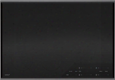 "Ce304t/s/208 30"" Transitional Electric Cooktop With 4 Heating Elements Ceran Ceramic Glass Surface Pulsation Technology True Simmer Melt Settings 208"