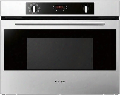 "F1sp30s1 30"" 100 Series Single Electric Wall Oven With 2.8 Cu. Ft. Capacity Pyrolytic Self-clean True European Convection Bake Halogen Lights And Electronic"
