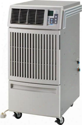 """Office Pro W20 21"""" Water Cooled Portable Air Conditioner With 15 700 Btu Cooling Programmable Controls Casters R-410a Refrigerant 15 Amps And 12 Psi In"""