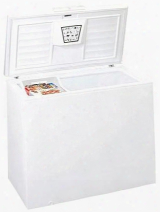 """Wch09 43"""" Chest Freezer With 8.8 Cu. Ft. Capacity Seamless Interior Liner Storage Basket Manual Defrost Static Cooling System Lift-out Basket Adjustable"""