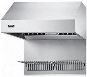 "Wgp60ss 60"" Wall Hood Warming Shelf Panel (three Shelves) In Stainless"