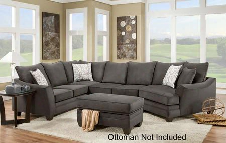 183810-4040-sec-fs Cupertino 3 Pc Sectional With Left Arm Facing Corner Sofa Armless Loveseat Right Arm Facing Cuddleer Toss Pillows And Fabric Upholstery In