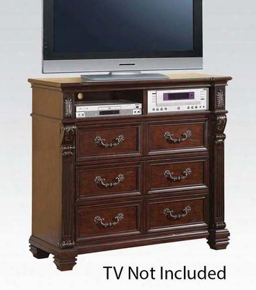 20507 Vevila Tv Console Cherry