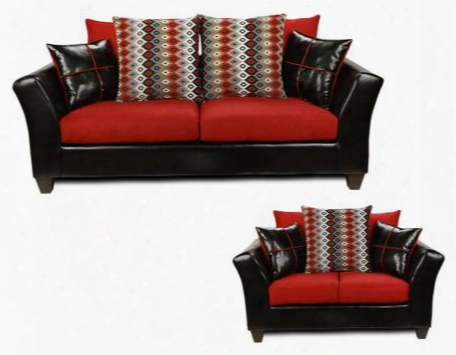 294170scrsl Cynthia Sofa + Loveseat With 1.5 Density Dacron Wrapped Cushions Toss Pillows No Sag Steel Springs And Solid Kiln Dried Hardwood Frames In Denver
