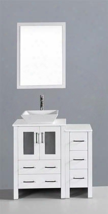 36 Bosconi Aw124s1s Single Vanity In