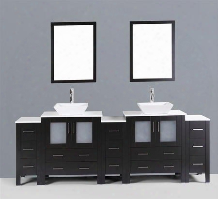 96 Bosconi Ab230s3s Double Vanity In