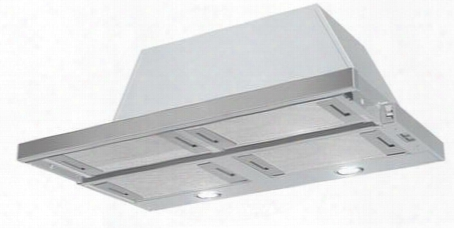 """Cris30ssh 30"""" Cristal Hc Under-cabinet Slide-out Hood With 600 Cfm Internal Blower 3-speed Slide Controls Easysnap Mounting System Fluorescent Light And"""