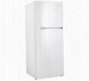 "Dff100c1wdb 24"" Top Freezer Refrigerator With 10.0 Cu. Ft. Capacity 2 Adjustable Wire Shelves Full-width Vegetable Crisper 1 Adjustable Wire Freezer Shelf"