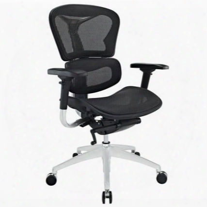 Eei-234-blk Lift Highback Office Chair In Black