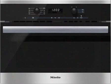 "M6260tc 24"" Built-in 900 Watt 1.6 Cu. Ft. Microwave With Directselect Controls 16 Automatic Programs Led Lighting Lcd Display And Minute Plus Button In"