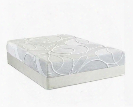 "Polariskdkmatf Enso 10"" King Sizw Mattress + Foundation With 3"" Quick Recovery Convoluted Foam 2"" Premium Quality Airflow Pressure Relief Memory Foam And Foam"