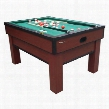 "G02251AW Classic Bumper Pool with Two 48"" Cues a Set of Bumper Pool Balls a Brush and"