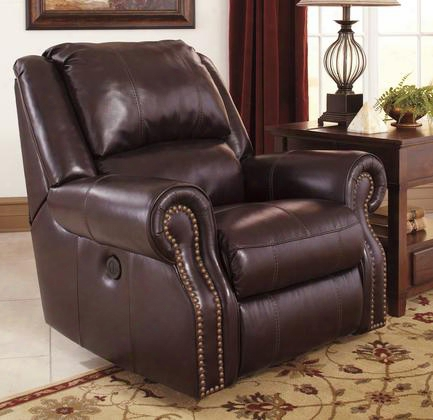 U7800298 Walworth - Black Cherry Rocker Reclining With