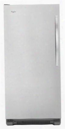 "Wsz57l18dm 30"" All Freezer With 18 Cu. Ft. Capacity Led Interior Lighting Fast Freeze Electronic Temperature Control Optional Ice Maker And Temperature"
