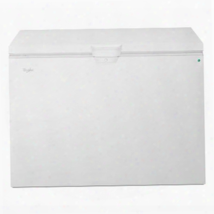 "Wzc5415dw 48"" Chest Freezer With 14.8 Cu. Ft. Capacity 2 Upper Storage Baskets Interior Light Exterior Power-on Light Temperature Alert Alarm Lock Feature"