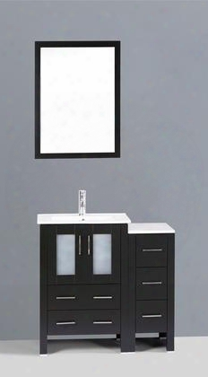 36 Bosconi Ab124u1s Single Vanity In