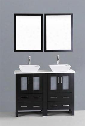 48 Bosconi Ab224s Double Vanity In