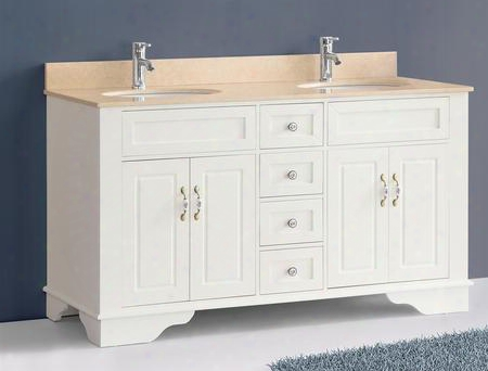 59 Bosconi A-5092c Classic Double Vanity In Cream