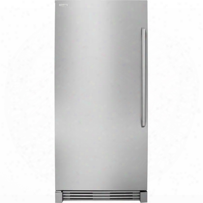 "Ei32af80qs 32"" 18.6 Cu. Ft. Capacity Built In All Freezer With Iq Touch Controls Full-width Cantilever Glass Shelves And Performance Lighting In Stainless"