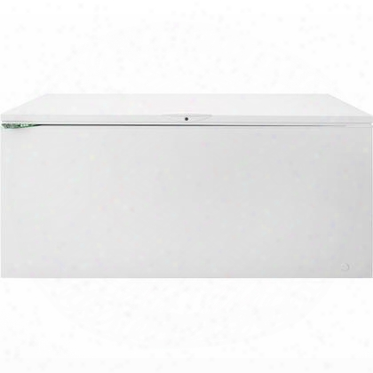 "Fffc18m6qw 62"" Chest Freezer With 18 Cu. Ft. Capacity Defrost Water Drain Adjustable Temperature Control Lock With Pop-out Key Bright Led Lighting And"